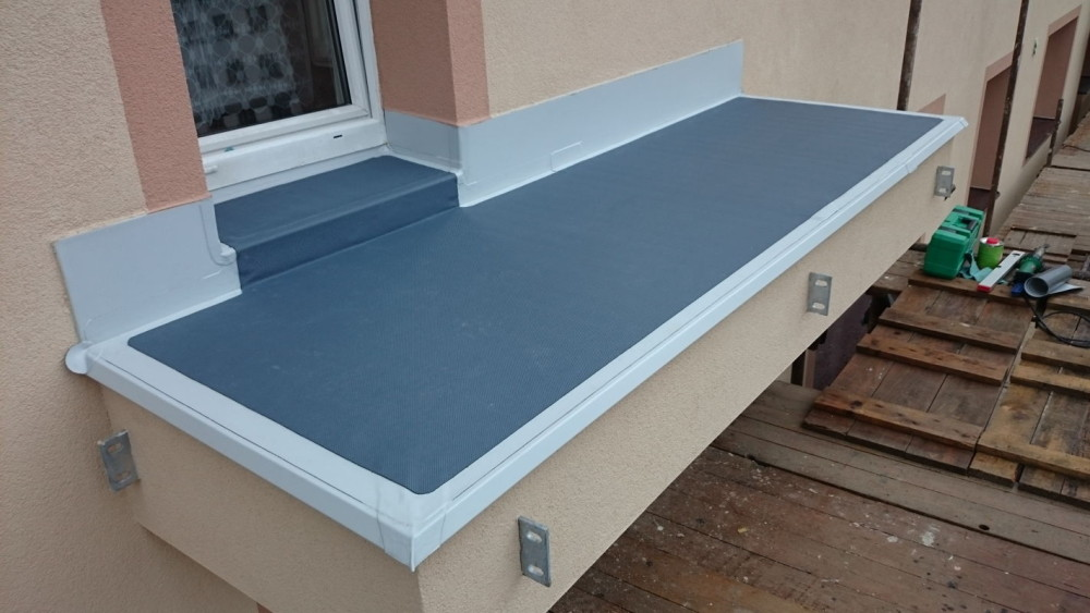 Izolace balkonů a teras